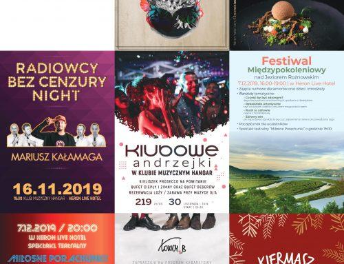 Jesień nad Rożnowskim – plan eventów